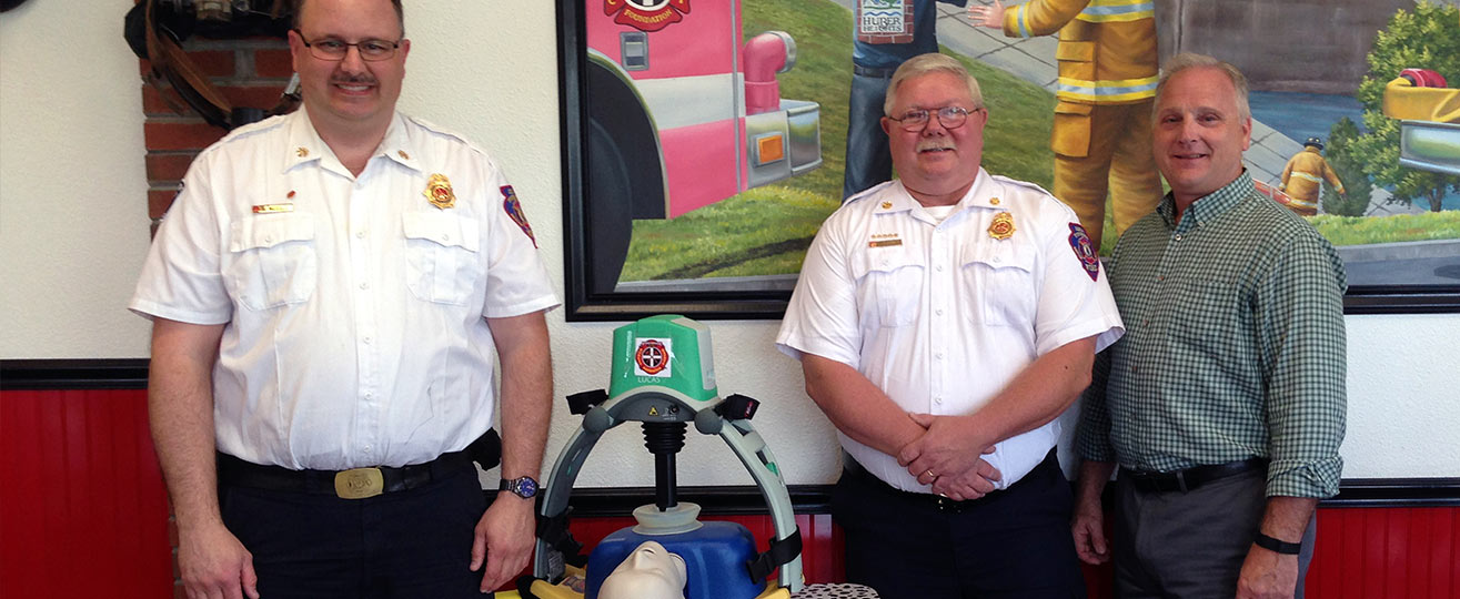 Xenia Township Fire Department Awarded Chest Compression Device