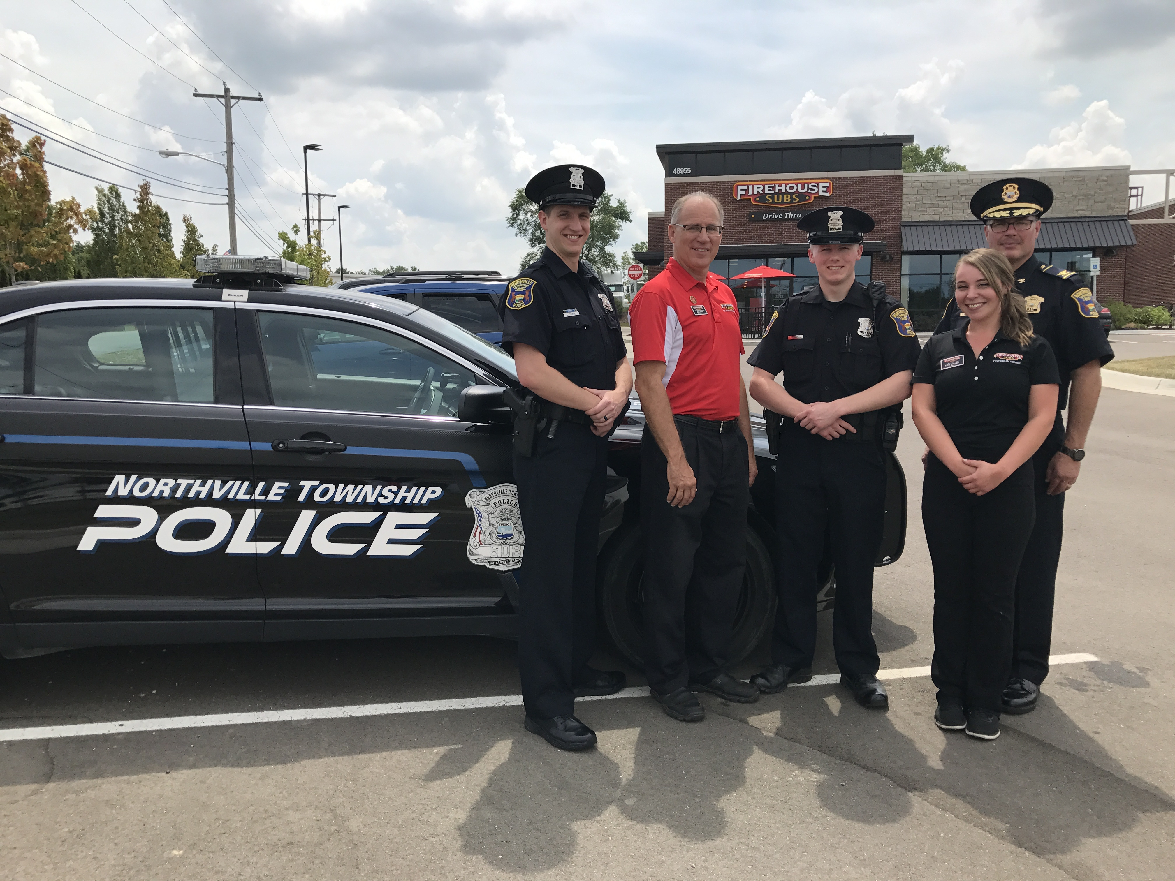 Rookie Police Officer Helps Save a Life