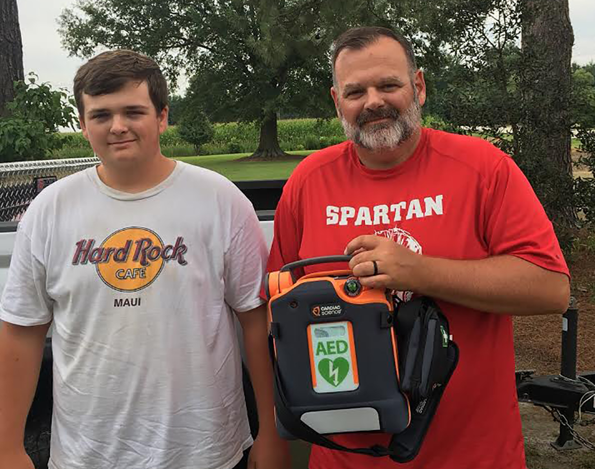Father Saves Son's Life